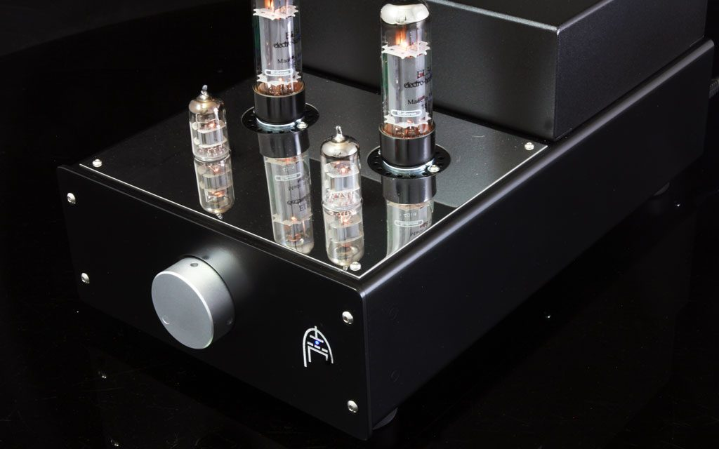 Audion Sterling EL34 stereo front lit