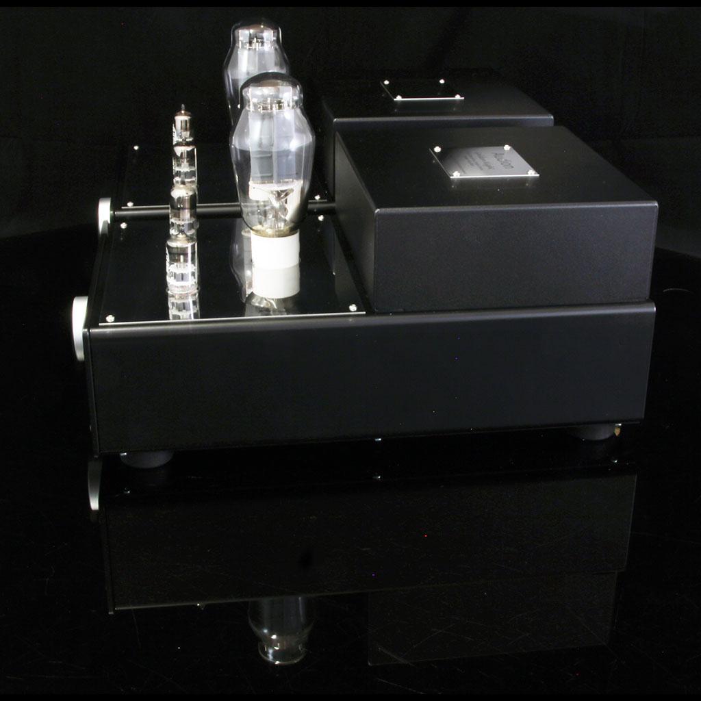 Golden Night 300B mono block power amplifier right hand side
