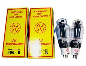 JJ 300B matched pair valves