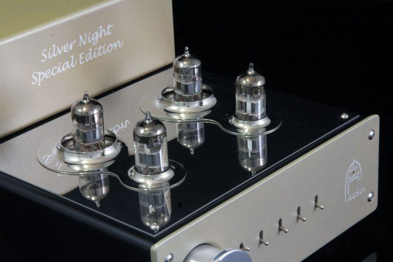 Silver Night Special Edition Pre-amp valve highlight