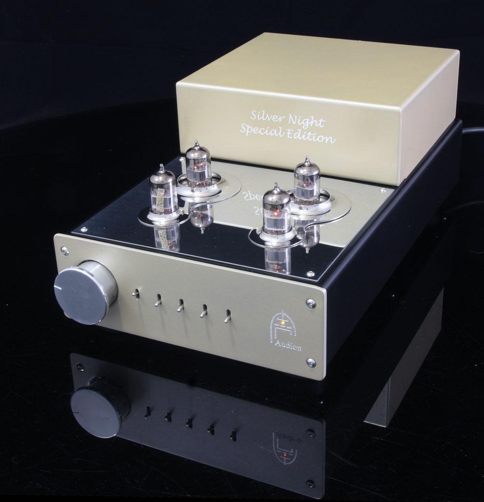Silver Night Special Edition Pre-Amplifier front