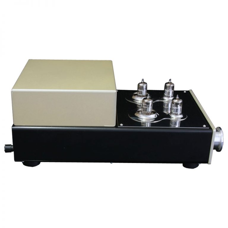 Silver Night Special edition Pre amplifier left hand side