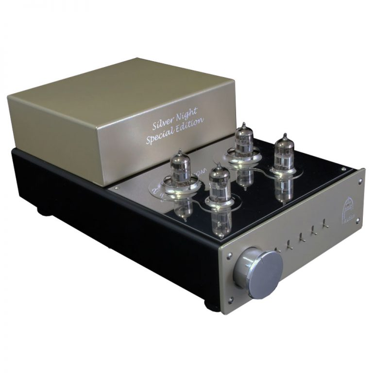 Silver Night Special Edition pre amplifier front left