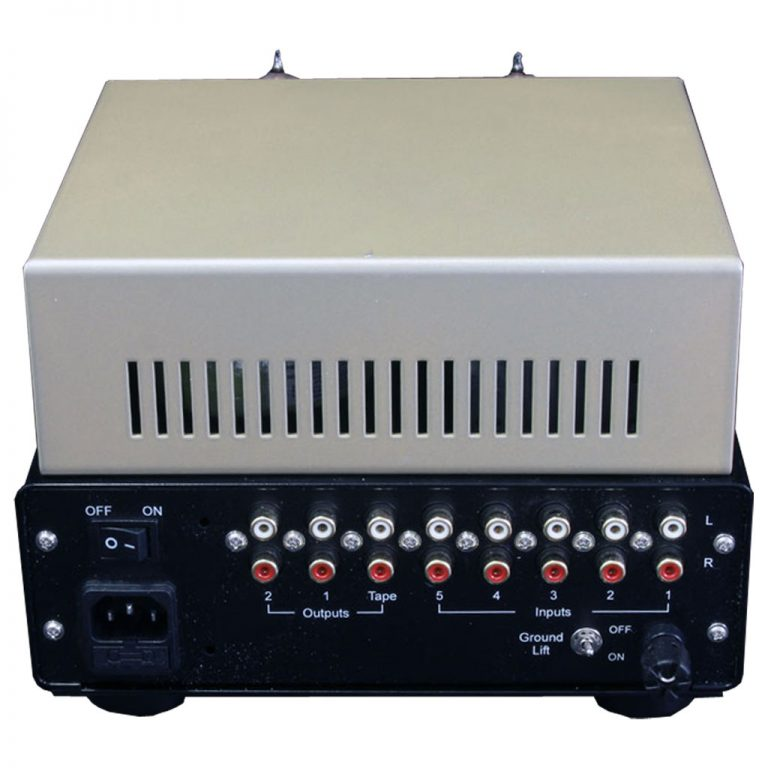 Silver Night Special edition Pre amplifier rear panel