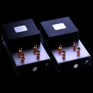 Audion Premier Quattro 2 box lit front